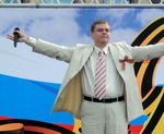 Алексей Приданцев - Концерт. День Победы. Нижний Новгород 2012г.